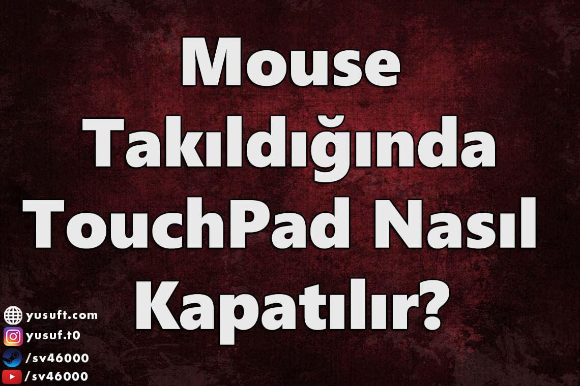 touchpad-kapatma