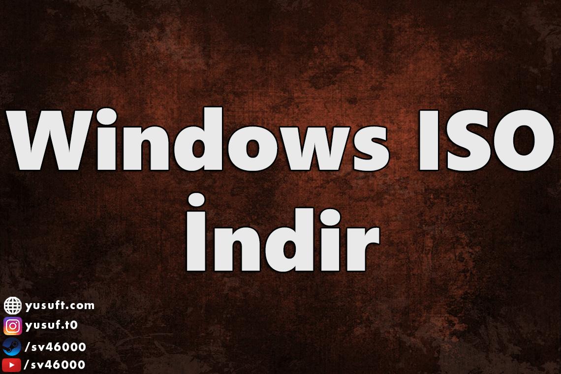 windows-iso-indir