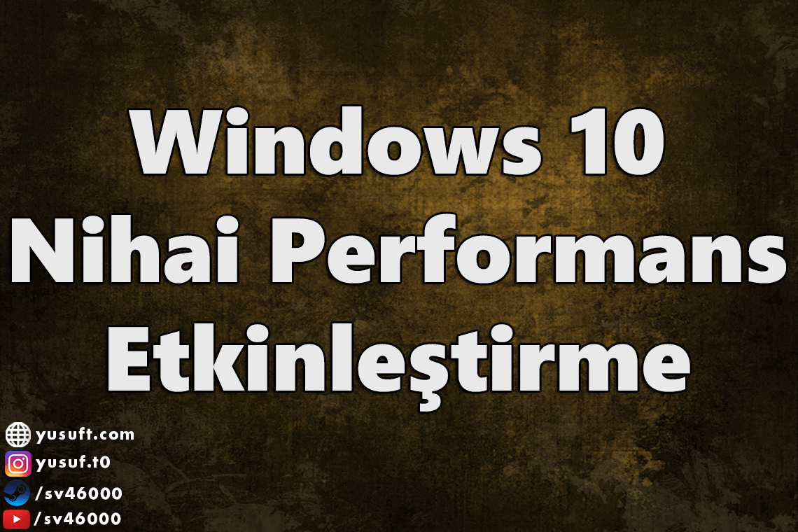 windows-nihai-performans
